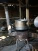Produktion von sticky rice