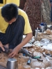 Mandalay, Holzschnitzer