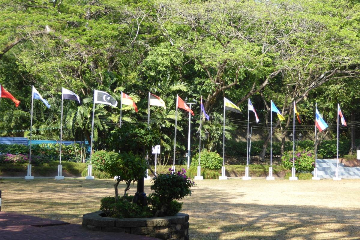 Malaysias Flaggen