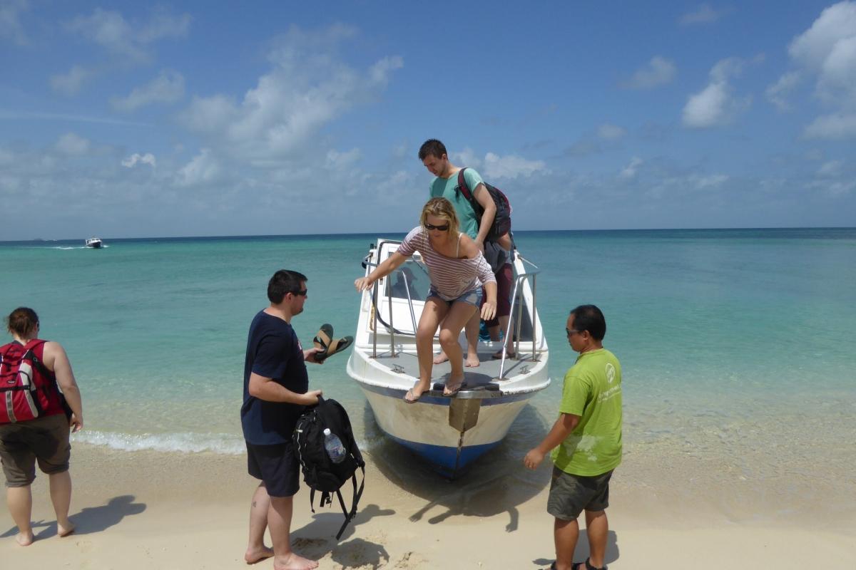 Ankunft auf Turtle Island